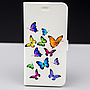 PROMOTIE Accesorii GSM: Toc FlipCover Stand Magnet Design Colour Butterflies Allview V2 Viper X