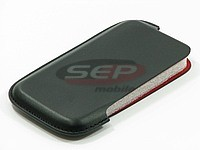 Accesorii GSM - Toc Slim Up: Toc piele lateral Slim Up compatibil Samsung S5620