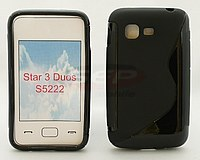 Accesorii GSM - :  Toc silicon S-Case Samsung Star 3 S5220 / Star 3 Duos S5222 / S5229