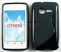 Accesorii GSM - Toc S-Case: Toc silicon S-Case 4012 Alcatel One Touch Fire