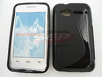 Accesorii GSM - Toc S-Case: Toc silicon S-Case Alcatel Pop D1