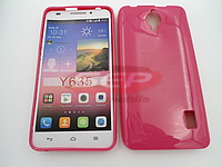 Accesorii GSM - Toc Jelly Case: Toc Jelly Case Huawei Y635 PINK