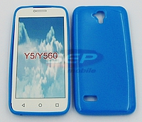 Accesorii GSM - Toc Jelly Case: Toc Jelly Case Huawei Y5 BLUE