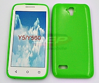 Accesorii GSM - Toc Jelly Case: Toc Jelly Case Huawei Y5 GREEN