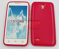 Accesorii GSM - Toc Jelly Case: Toc Jelly Case Huawei Y5 PINK