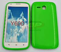 Accesorii GSM - Toc Jelly Case: Toc Jelly Case Huawei Y600 GREEN