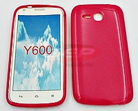 Accesorii GSM - Toc Jelly Case: Toc Jelly Case Huawei Y600 PINK