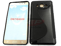 Accesorii GSM - :  Toc silicon S-case G600FY Samsung Galaxy On7