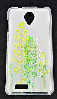 Accesorii GSM - Toc Back Case Design: Toc plastic siliconat Design FOREST Allview P6 Life