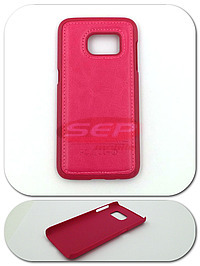 Accesorii GSM - Toc Back Case Leather: Toc Back Case Leather Apple iPhone 5 / 5S ROZ