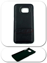 Accesorii GSM - Toc Back Case Leather: Toc Back Case Leather Samsung Galaxy A9 (2016) NEGRU