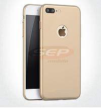 Accesorii GSM - Tocuri HARD CASE: Toc Metallic Matte Apple iPhone 7 Plus GOLD