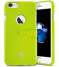 Accesorii GSM - Goospery Jelly Case: Toc Jelly Case Mercury Apple iPhone 5G / 5S / SE LIME