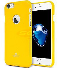 Accesorii GSM - Goospery Jelly Case: Toc Jelly Case Mercury Apple iPhone 5G / 5S / SE YELLOW