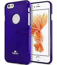 Accesorii GSM - Goospery Jelly Case: Toc Jelly Case Mercury Apple iPhone 6 Plus PURPLE