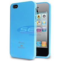 Accesorii GSM - Goospery Jelly Case: Toc Jelly Case Mercury Apple iPhone 6 Plus SKY BLUE