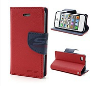 Accesorii GSM - Toc FlipCover Fancy: Toc FlipCover Fancy HTC Desire 610 RED-NAVY
