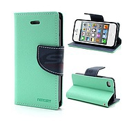 Accesorii GSM - Toc FlipCover Fancy: Toc FlipCover Fancy G850F Samsung Galaxy Alpha MINT-NAVY