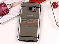 Accesorii GSM - Toc Back Case Lines: Toc Back Case Lines Samsung Galaxy S5 BLACK
