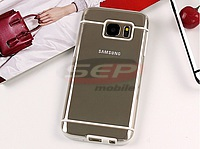 Accesorii GSM - Toc Back Case Lines: Toc Back Case Lines Samsung Galaxy S6 WHITE