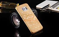 Accesorii GSM - Toc Jelly Case Squares: Toc Jelly Case Squares Apple iPhone 5G / 5S GOLD