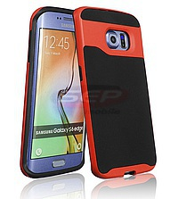 Accesorii GSM - Toc 2 in 1 Hybrid: Toc 2 in 1 Hybrid Apple iPhone 5 / 5S / SE ORANGE
