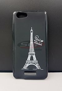 Accesorii GSM - Toc Back Case Design: Toc Back Case Design Paris Mon Amour ZTE Axon 7