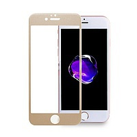 Accesorii GSM - Folie protectie display sticla 5D: Geam protectie display sticla 5D FULL GLUE Apple iPhone 6 GOLD