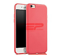 Accesorii GSM - Toc TPU Matte: Toc TPU Matte Apple iPhone 6G / 6S Red