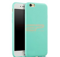 Accesorii GSM - Toc TPU Matte: Toc TPU Matte Apple iPhone 6G / 6S Mint