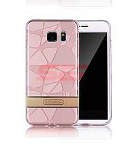 Accesorii GSM - Motomo: Toc Motomo 3D Stones Apple iPhone 7 Plus ROSE GOLD