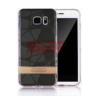 Accesorii GSM - Motomo: Toc Motomo 3D Stones Apple iPhone 8 ANTRACIT