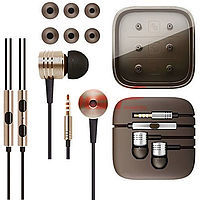 Accesorii GSM - Casti audio In-Ear Stereo Metal: Casti audio In-Ear Stereo Metal universal 3,5mm GOLD