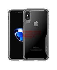 Accesorii GSM - iPaky: Toc iPaky Armor Apple iPhone XS Max Grey