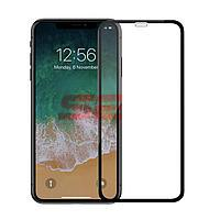 Accesorii GSM - Folie protectie display sticla 5D: Geam protectie display sticla 5D FULL GLUE Apple iPhone XS Max BLACK