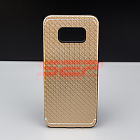 Accesorii GSM - PC Back Cover: Toc ALU Carbon  Samsung Galaxy S8 Plus Gold