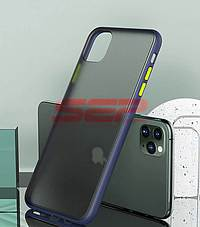 Accesorii GSM - Toc TPU+PC Antishock: Toc TPU+PC Antishock Apple iPhone 11 Blue