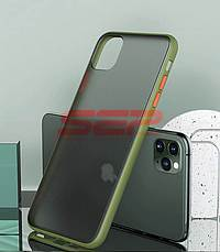 Accesorii GSM - Toc TPU+PC Antishock: Toc TPU+PC Antishock Apple iPhone 11 Green