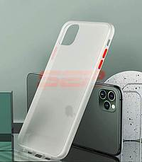 Accesorii GSM - Toc TPU+PC Antishock: Toc TPU+PC Antishock Apple iPhone 11 White
