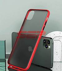 Accesorii GSM - Toc TPU+PC Antishock: Toc TPU+PC Antishock Apple iPhone 11 Pro Max Red