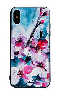 Accesorii GSM - Toc TPU+PC UV Print 3D: Toc TPU+PC UV Print 3D Apple iPhone 6 Flowers