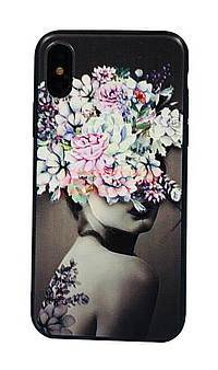 Accesorii GSM - Toc TPU+PC UV Print 3D: Toc TPU+PC UV Print 3D Apple iPhone 6 Lady