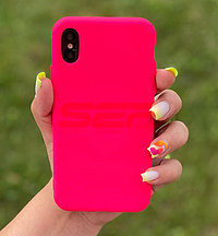 Accesorii GSM - TPU Back Cover: Toc silicon High Copy Apple iPhone 11 Pro Fuchsia