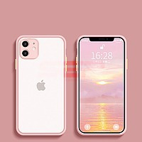Accesorii GSM - Toc TPU+PC Antishock: Toc TPU+PC Antishock Apple iPhone 11 Pink
